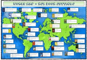 world map ks2