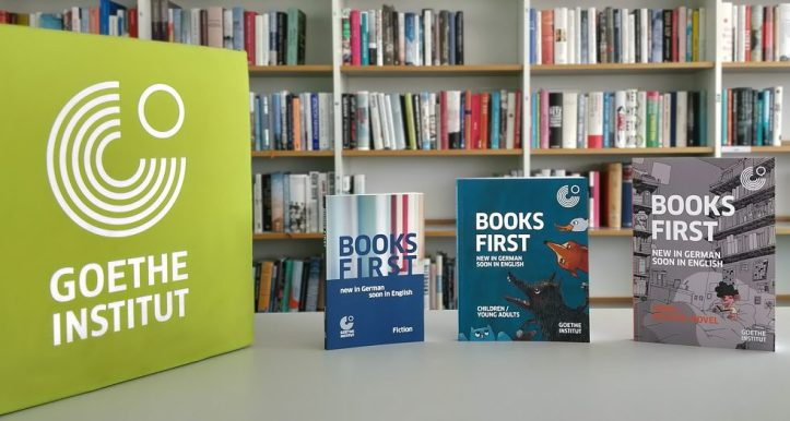 Goethe insitut books first